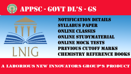 APPSC GOVT  DL'S GS