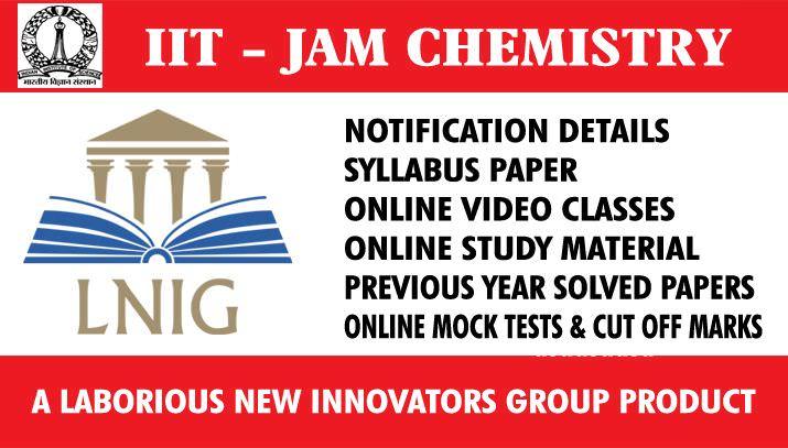 04. IIT JAM  CHEMISTRY